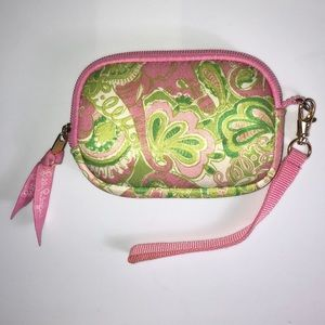 LILLY PULITZER WRISTLET / COIN PURSE